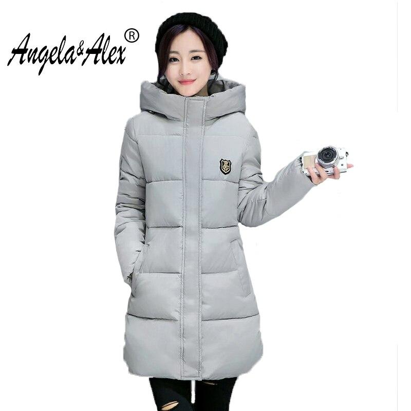 Winter Jacket Women 2017 New Arrival Warm Coat Female Long Sleeve Parka Women Jackets Hoodies Casual
