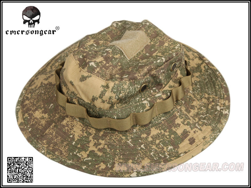 26607bc6efe EMERSON Bucket Hat Tactical Hunting Fishing Outdoor Cap - Wide Brim  Military Boonie Hat Badland Hunting Caps