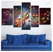 5d diy full diamond painting cross stitch mosaic Guitar Music full drill square resin rhinestones diamond embroidery home decor