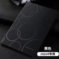 Nuevo original kakusiga para iPad Mini 4 caja PU de cuero de protección Conchas caso elegante plegable folio stand titular