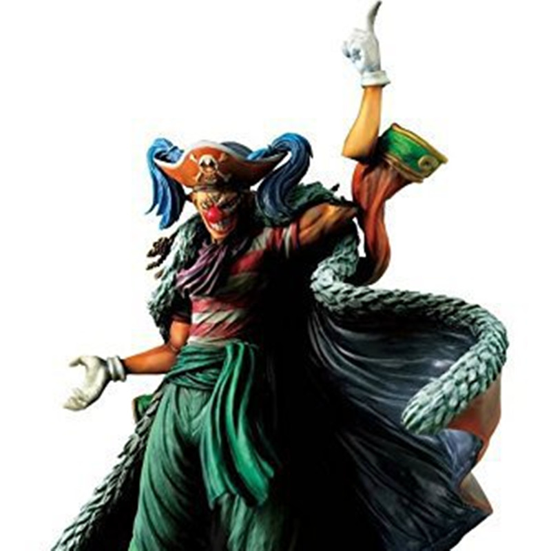 ФОТО Japan Classic Anime ONE PIECE 24cm PVC Anime Buggy Action Collection Figures Model Toys Gifts