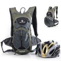 Maleroads 15L Cycling Backpack Hydration Water Bladder Bag Bicycle Biking Bagpack Camping Hiking Trekking Bag Pack For Men Women