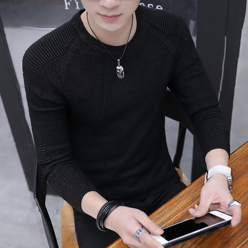2019  Cashmere Cotton Sweater Men Autumn Winter Jersey Jumper Robe Hombre Pull Homme Hiver Pullover Men O-neck Knitted Sweaters