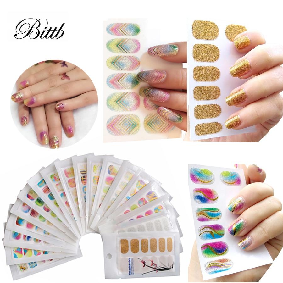 bittb beauty nail stickers polish