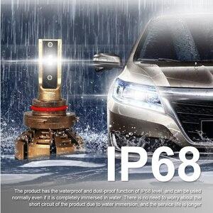 Image 3 - LSlight LED Phare H7 H4 H11 H1 9005 HB2 HB3 H8 H9 LED אוטומטי פנס הנורה 6000K 9600LM 72W 12V רכב אור דיודה קרח מנורת luces