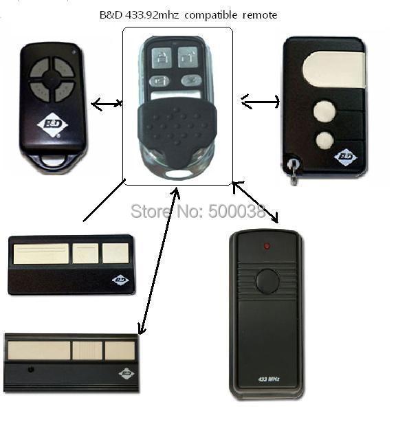 After market ,BNDptx4 remote , easylift remote , liftmaster remote ,chamberlain remote market day
