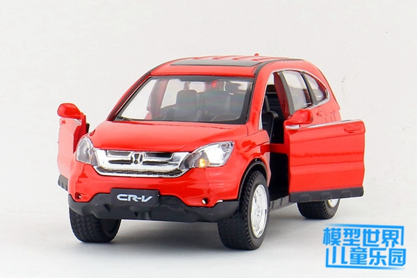 High Quality Simulation 132 Alloy Pull Back CarHonda CRV SUV Off Road Vehiclesmetal Model Cars Toyfree Shipping In Diecasts Toy Vehicles From