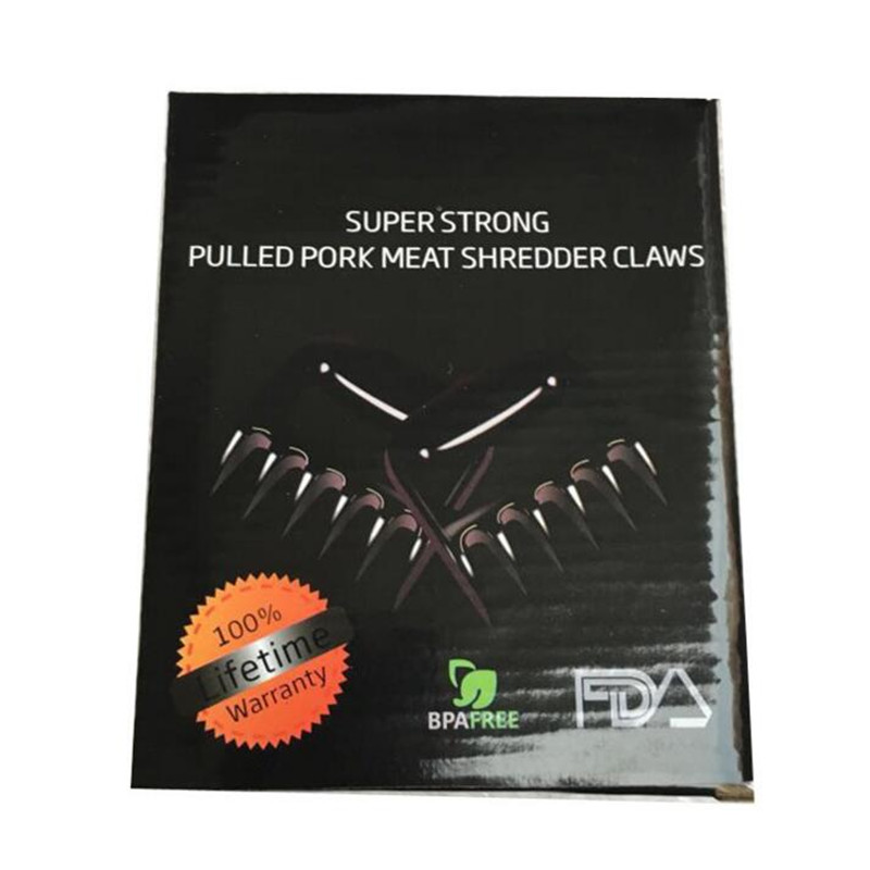 Kitchen Bear Black Claws Barbecue Fork They Are The Perfect Tool For Pulling Pork Shredding Chicken Lifting Turkeys  Tossing Salads Tool Accessories 4