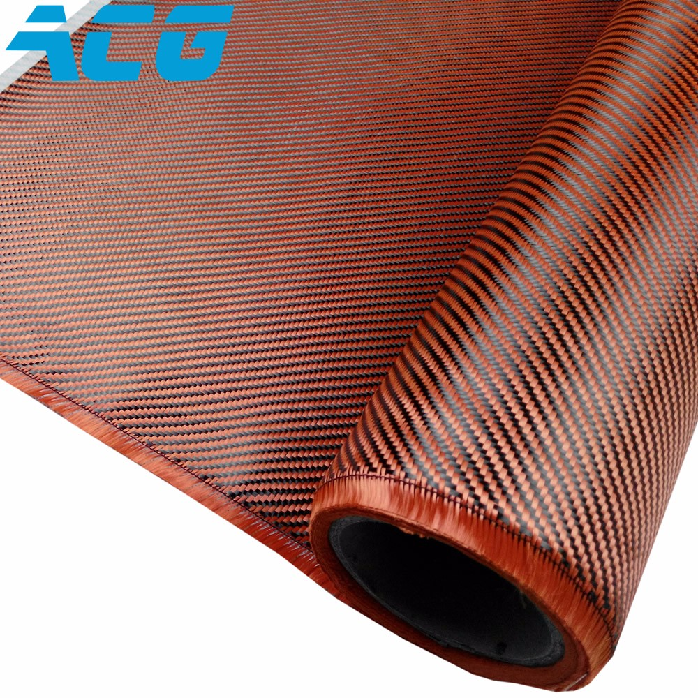US $217 0 |Orang Kevlar Orange carbon fiber cloth hybrid fabric 200GSM  plain/twill weave 10 meters/lot-in Fabric from Home & Garden on  Aliexpress com