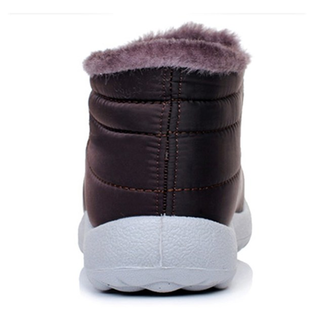 STEPREACH Brand Winter Women Boots Female Waterproof Flexible Ankle Boots Down Warm Snow Boots Ladies Shoes Woman zapatos mujer