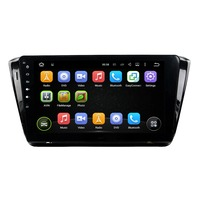 KLYDE 10.1 1 Din Android 8.1 Car Radio For Skoda Superb 2015 Car Audio Multimedia Player Touch Car Stereo Quad Core Canbus