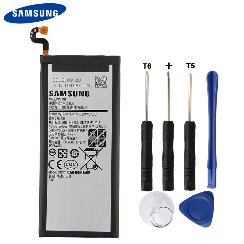 Original Samsung Battery EB BG935ABE For Samsung GALAXY S7 Edge G9350 G935FD SM G935F Genuine Replacement