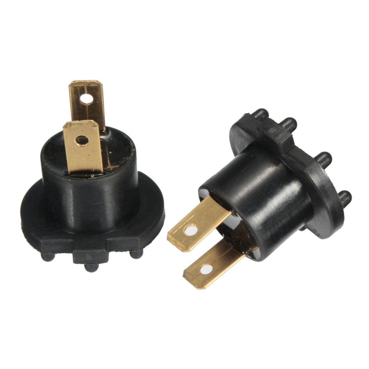 2017 2PCS Headlight Socket Plug Connector Adapter Bulb Holder Easy ... for Bulb Holder With Plug  35fsj