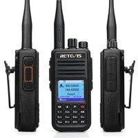 vhf uhf Band Dual DMR Retevis RT3S Talkie Walkie דיגיטלי (GPS) VHF UHF DMR רדיו אמאדור Ham Radio Hf משדר 2 Way רדיו + אביזרים (3)
