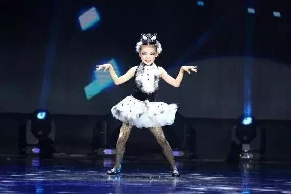 New Modern Children's Costumes, Children's Animal Wear, Cat Performance, Girls, Dance, Dance  Modern Baby Dance Clothes
