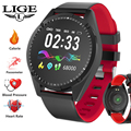 Умные часы для мужчин и женщин умный Браслет OLED экран монитор сердечного ритма кровяное давление фитнес-трекер спортивные умные часы Android IOS