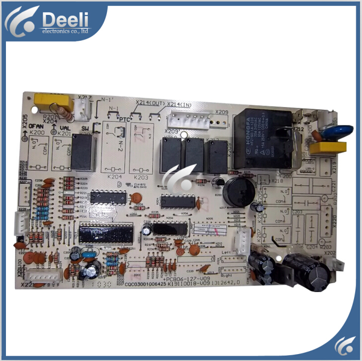 95% new good working for air condition motherboard +PCB06-127-v09 k19110018-v09 Air Conditioner Parts on sale good working condition r88d ua04v 90