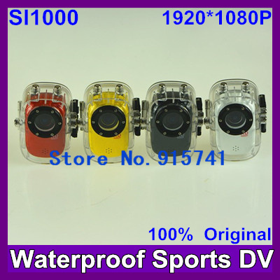 2014 Newest HD 1080P SJ1000 Sports camera  Action camera waterproof dvr cameras MINI action camera+car black box WDR+H.264