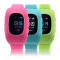 2017 Новые Анти Потерянных Детей Малыш Smart watch GPS Позиции Rubber Band Наручные Часы Браслет Электронные Ват Для Android Для IOS