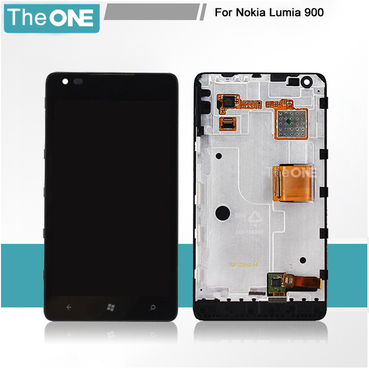 Подробнее о Free DHL for Nokia lumia 900 LCD display screen with touch screen digitizer with frame assembly full set lcd display screen with touch screen digitizer with frame assembly full set for nokia lumia 1320