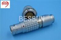 LEMO FGG.2B.308.CLAD , EGG.2B.308.compatible lemo 8 pins metal circular push pull electrical connector 2B series plug socket