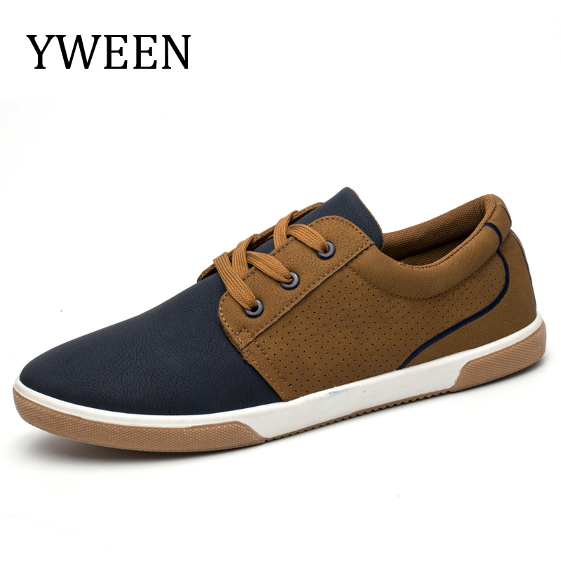 YWEEN Men Casual Shoes 2018 Spring Summer Lace up Breathable Fashion Sneakers Men's Shoes new spring summer men casual shoes breathable black high top lace up canvas shoes espadrilles 2018 fashion white men shoes flat