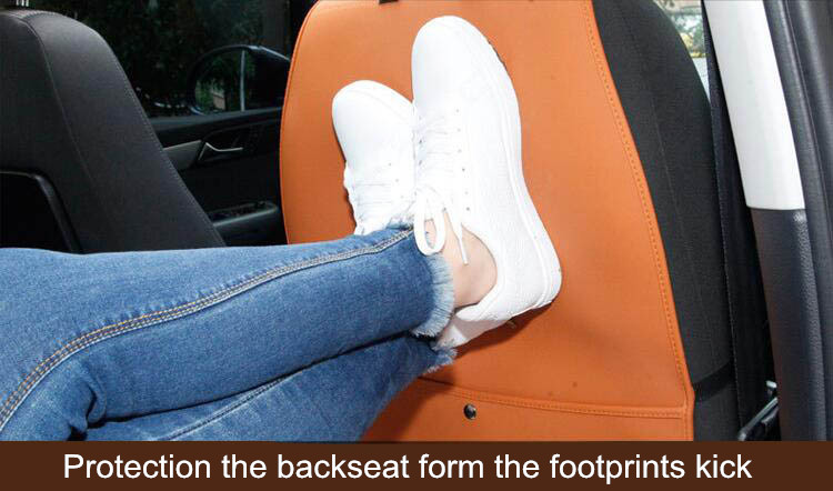 Buy Car Seatback Protection Cover with Storage Pocket