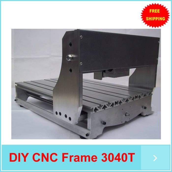 Fai da te kit router di cnc, cnc telaio della macchina, cremagliera CNC adatto per 4030 T. meglio di 3020 TFai da te kit router di cnc, cnc telaio della macchina, cremagliera CNC adatto per 4030 T. meglio di 3020 T