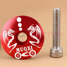 Bicycle Aluminum Alloy Headset Cover High Quality Bowl MTB Road Bike Top With Screws Cycling Accessories