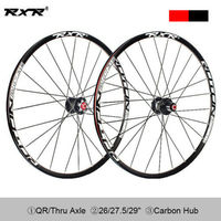 RXR 26er 27.5er 29er carbon bike wheelset Mountain Bike Hub Wheels 25mm Rim 7 11s MTB Bicycle Wheel sets disc brake wheels