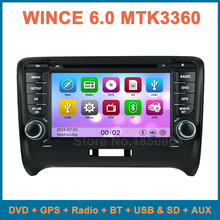 for Audi TT 2006 2007 2008 2009 2010 2011 2012 Touch screen Car DVD Player Radio with Canbus GPS BT AUX free 8GB map card