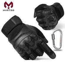 Перчатки для мотокросса из искусственной кожи с сенсорным экраном, перчатки для мотокросса с твердыми костяшками, защитные перчатки для мужчин