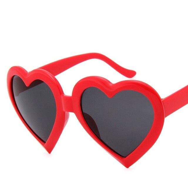 53b2b5c3e3cc9c Heart Shaped Sunglasses for Women Fashion Lovely Luxury Brand Designer Sun  Glasses UV400 Women s Glasses Lunette De Soleil Femme