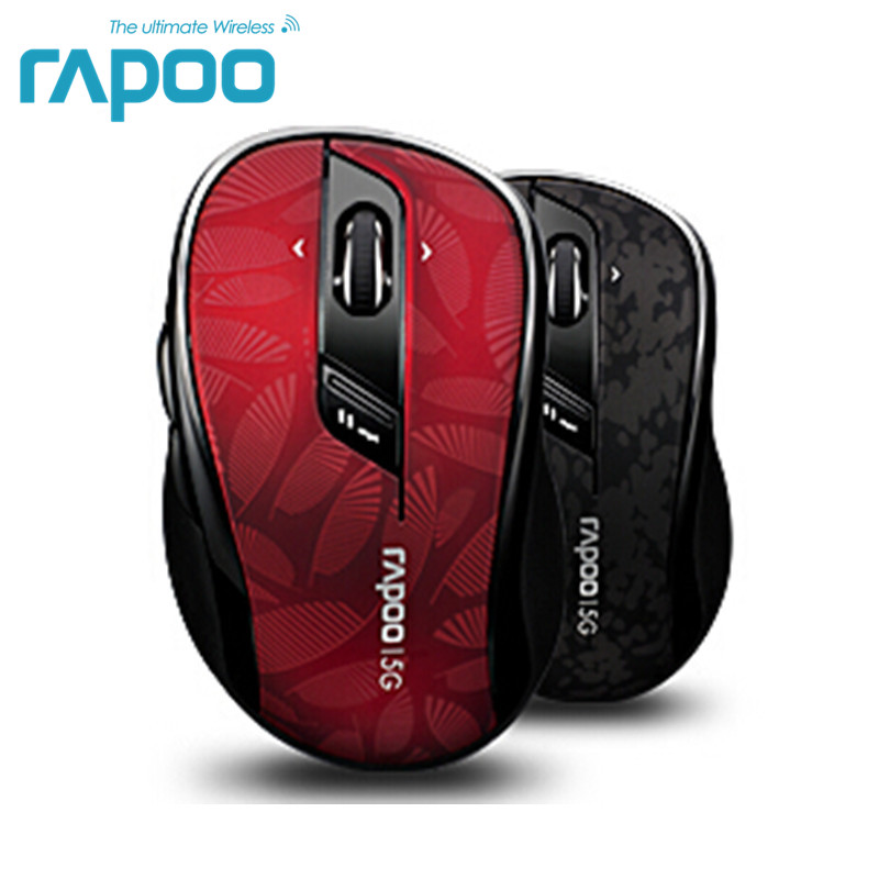Original Rapoo High Quality Classic 5G Wireless Optical Gaming Mouse With Adjust DPI 4D Scroll For Desktop Laptop PC Computer