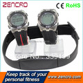 Wristband Calorie Heart Rate Monitor Chest Belt Pulse Meter Pedometer Watch