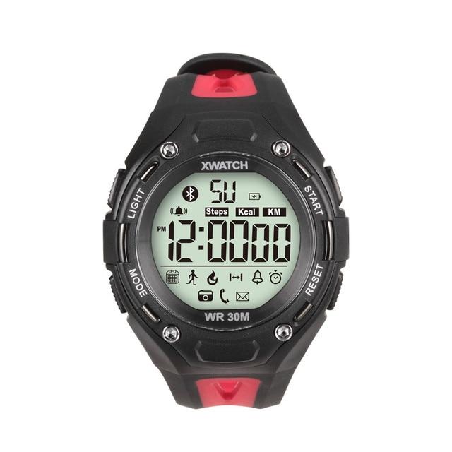 XWatch Bluetooth 4.0 Smart Watch Waterproof Smartwatch Wristwatch Pedometer Remote Camera Sport Bracelet For iOS Android Men