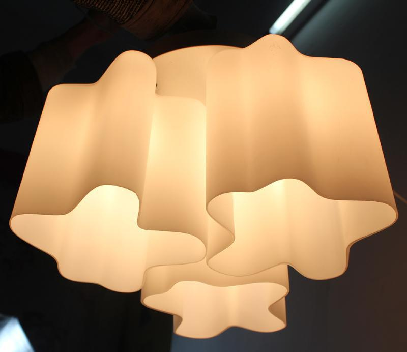 Logico Triple Nested Ceiling Light by Michele de Lucchi Micro Lamp Lighting