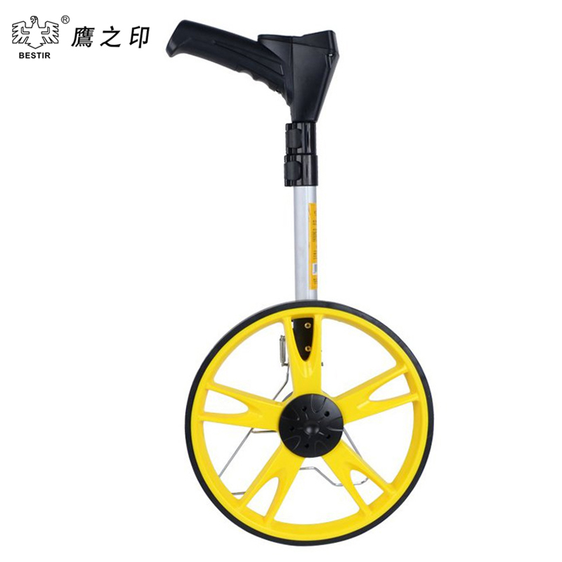 BESTIR 99999.9M  Large Distance Measuring  Wheel In Bag Road Land with Support Stand big wheel 01382 large land