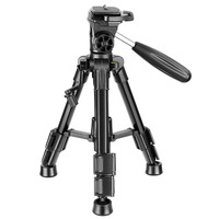 Neewer Mini Travel Tabletop Camera Tripod 24 inches Portable Aluminum with 3 Way Swivel Pan Head for DSLR Camera Smartphones