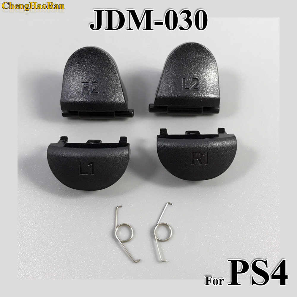 Image 3 - 100sets Replacement JDS JDM 030 040 001 010 011 For Playstation 4 Controller L2 R2 L1 R1 Springs For PS4 Trigger Button-in Replacement Parts & Accessories from Consumer Electronics