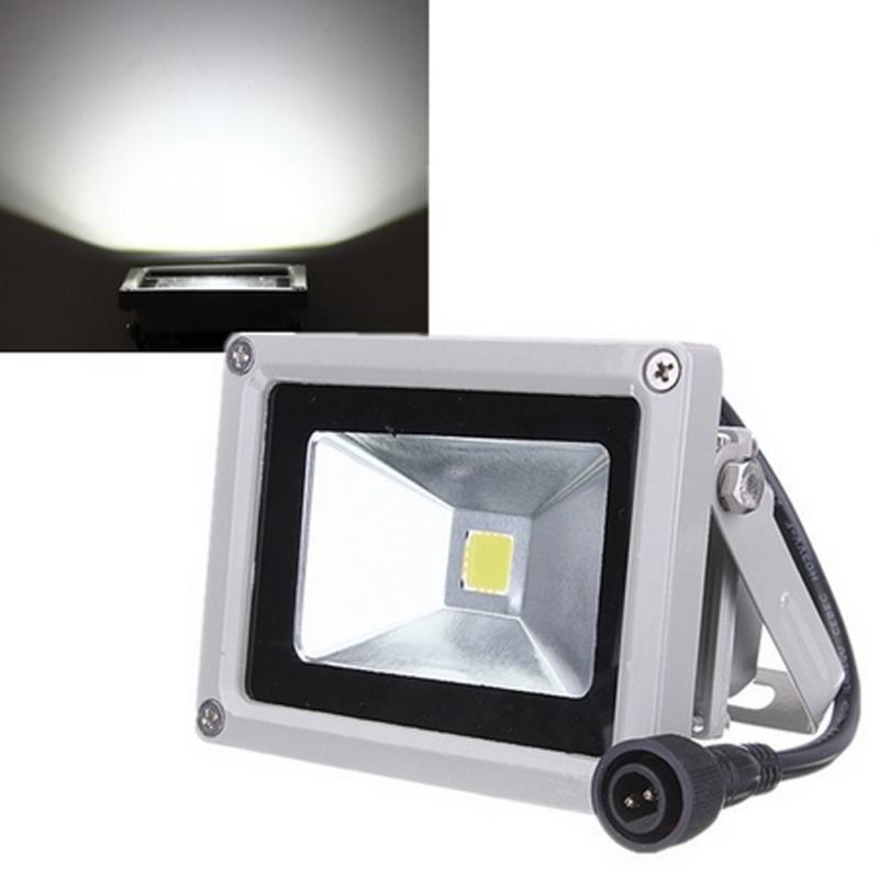 10W Solar Power LED Flood Night Light Garden Spotlight ...