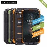 POPTEL P9000 Max 4GB 64GB IP68 Waterproof shockproof 4G LTE FDD SmartPhone 5.5 FHD MT6750V Octa Core 13MP NFC OTG Fingerprint