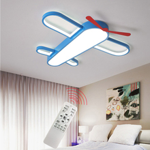 Nordic Children's Room led ceiling light aircraft Cartoon Lamp airplane aeroplane plain Boys Bedroom living room lights Creative creative art aircraft ceiling lamp bedroom living room eye protection light children room cartoon decoration lamp free shipping