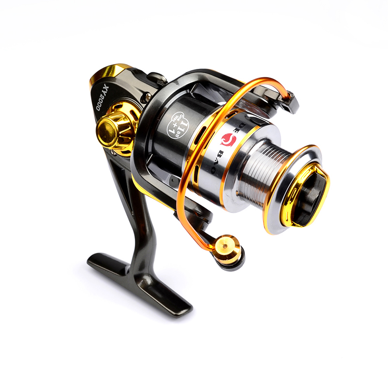 Fishing Reels One Way 12BB Ball Bearings Spinning Reel 5.2:1 Left Right Hand Interchangeable Spinning Reel Fishing wheel