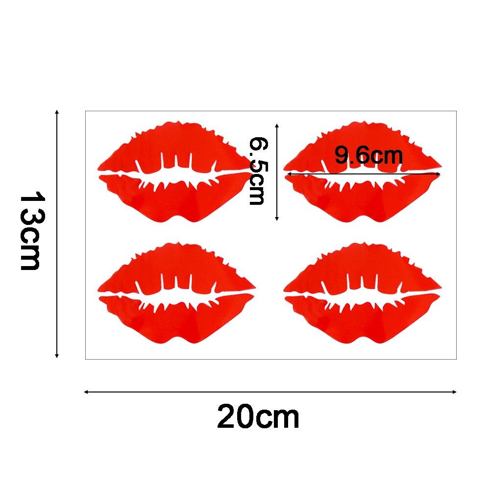 Red Lips Auto For Car//Bumper//Window Vinyl Decal Sticker Decals DIY Decor Best