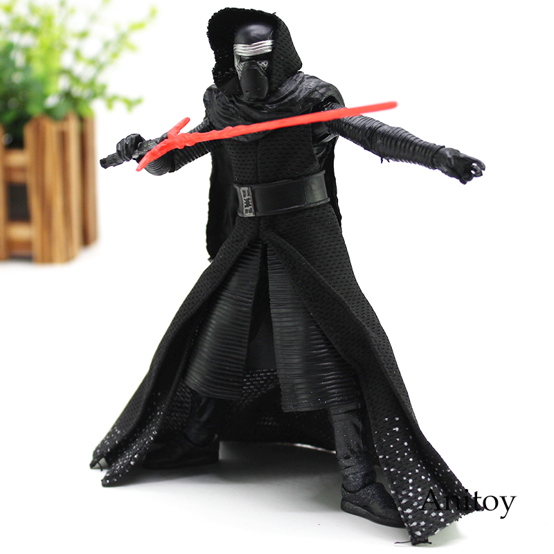 NEW HOT Star Wars Figure Star Wars 7 The Force Awakens Kylo Ren Action Figure Toy 16cm KT4638 10cm nendoroid star wars toy the force awakens stormtrooper darth vader 501 502 pvc action figure star wars figure toys
