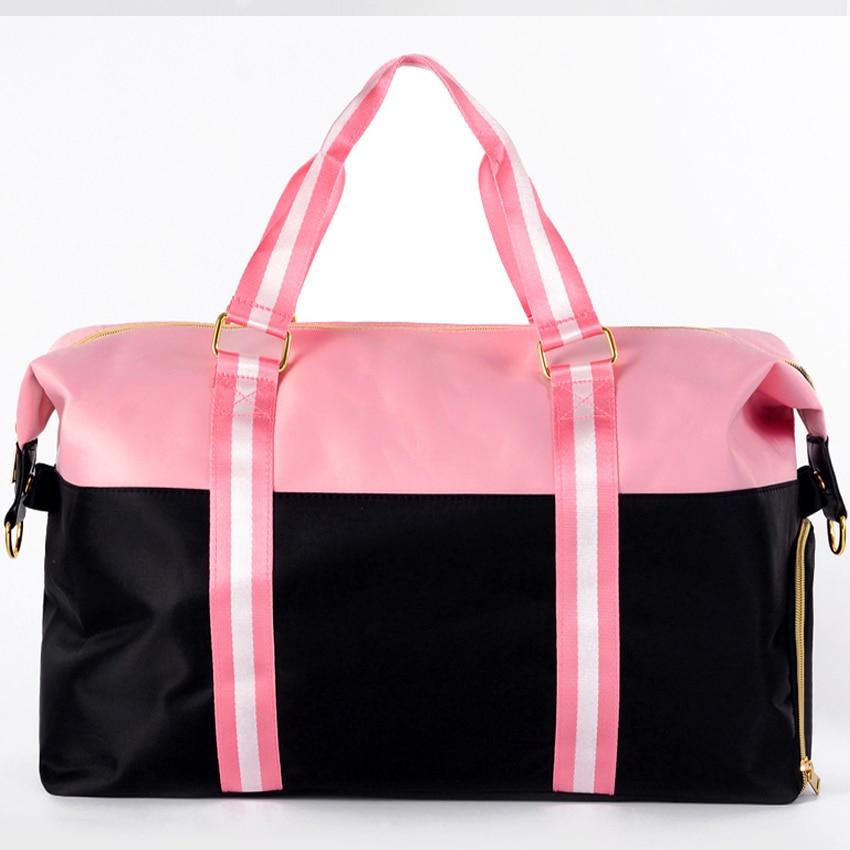 Resväska Kvinnor 2018 Nya Vattentäta Oxford Mjuka Rosa Svarta - Väskor för bagage och resor - Foto 2