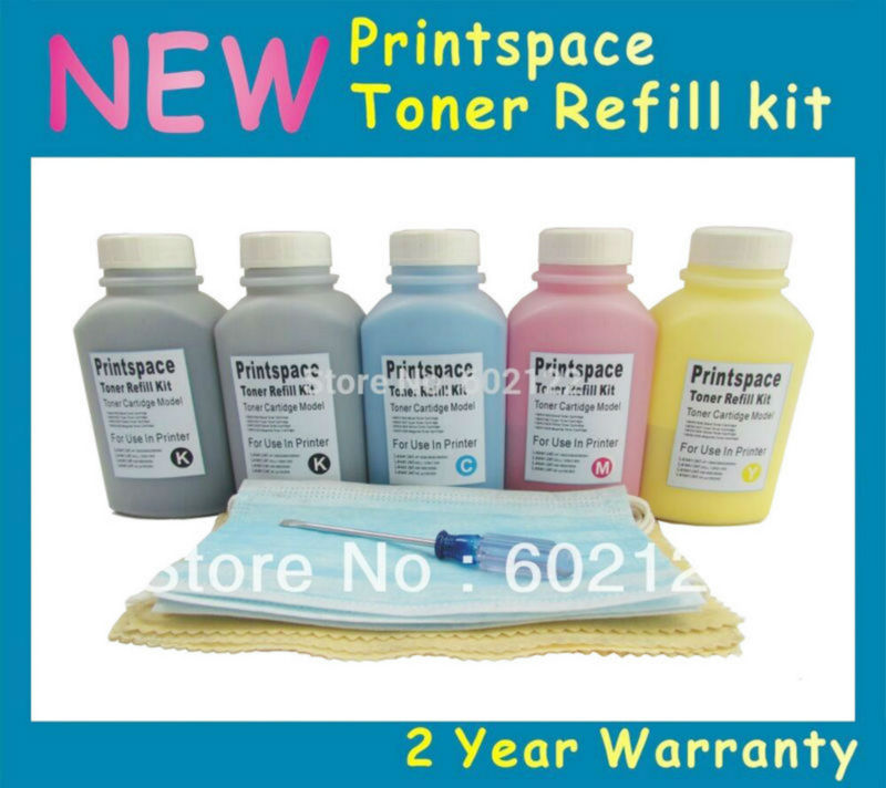 5x Toner Refill Kit Compatible for Epson Laser Printer C900 C1900, SO50097 SO50098 SO50099 SO50100 KKCMY black refill toner for lenovo laser and all in one printers 5 3oz