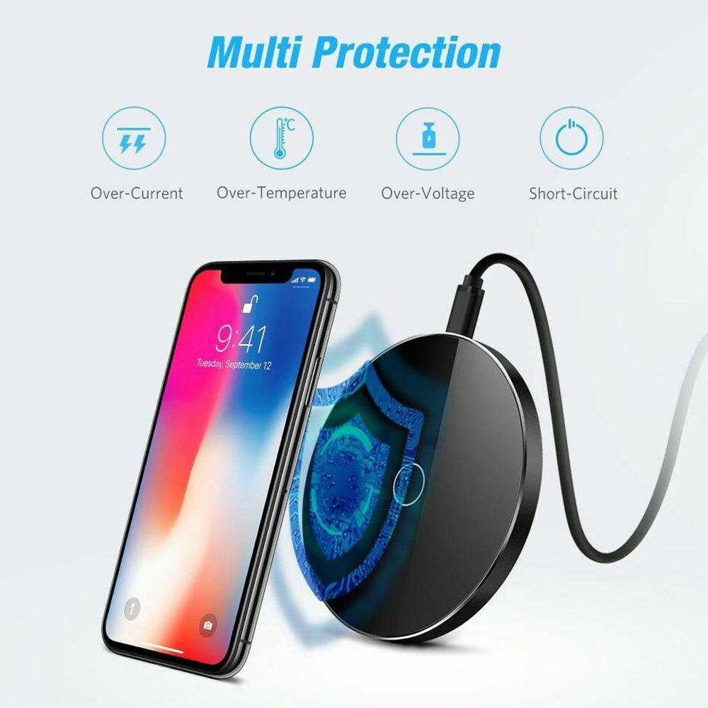 Chargeur de téléphone pour Huawei Mate 20 Pro W3 P30 Pro chargeur sans fil USB chargeur pour Xiao mi mi x 2 s mi x 3 mi 9 Charge sans fil - 6