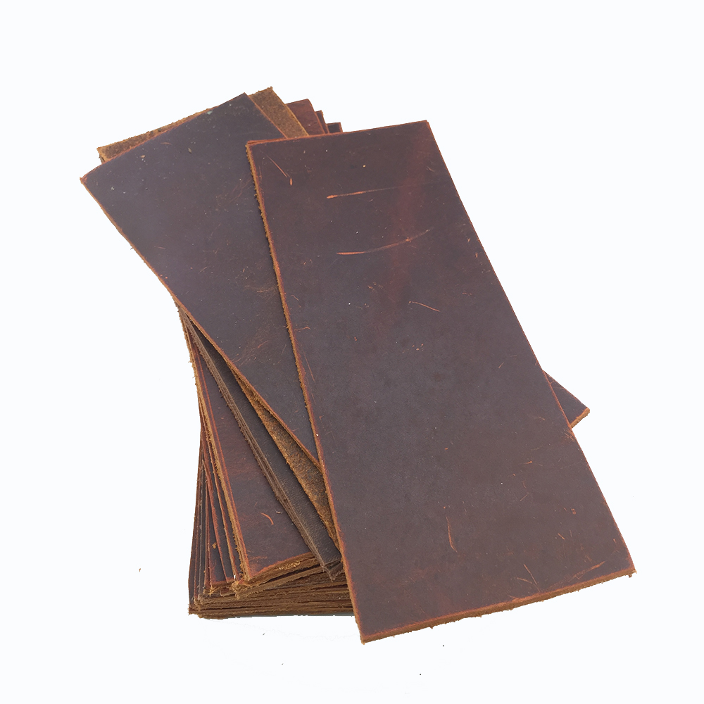 1.8-2mm Thick Veg-Tan Cowhide Leather Pieces tooling leather Wallet Belt Holster